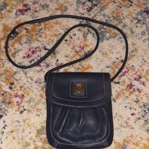 Tignanello Navy Blue Crossbody Bag